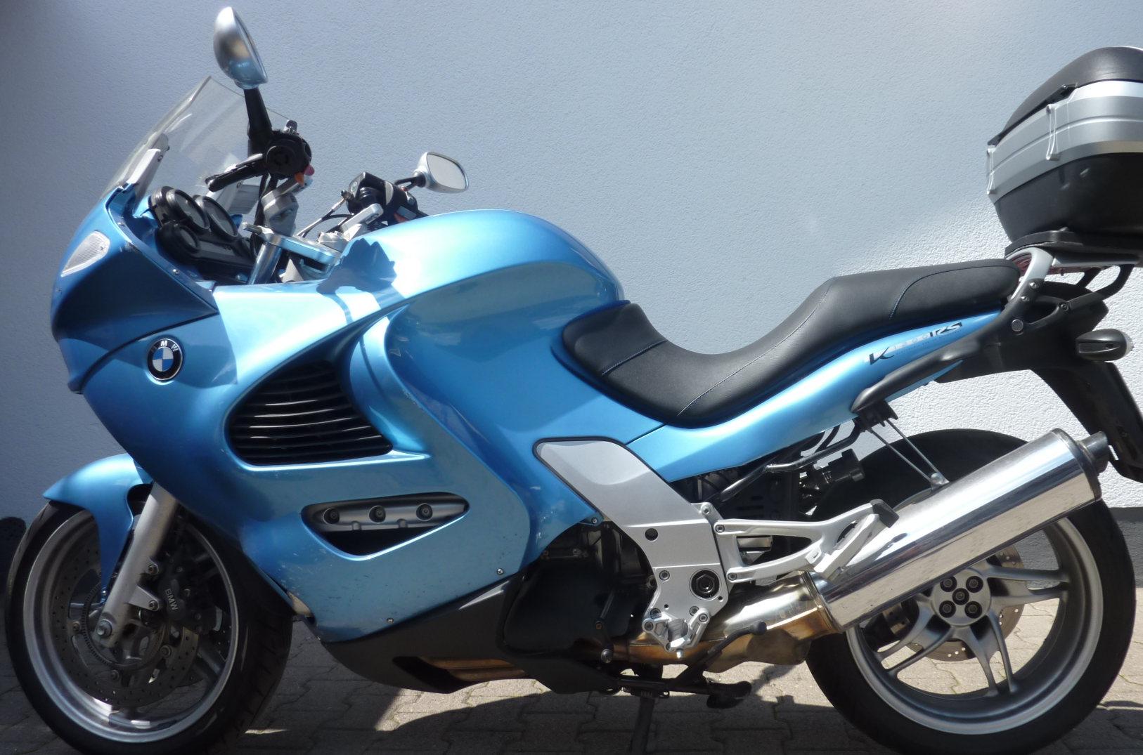 BMW K1200 extrem abgepolstert und doch bequem_1