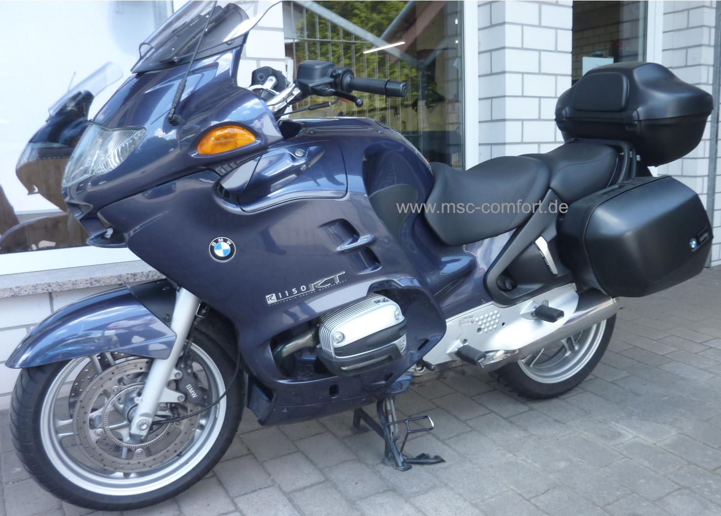 Sitzbank BMW R1150 RT aufgepolstert 1