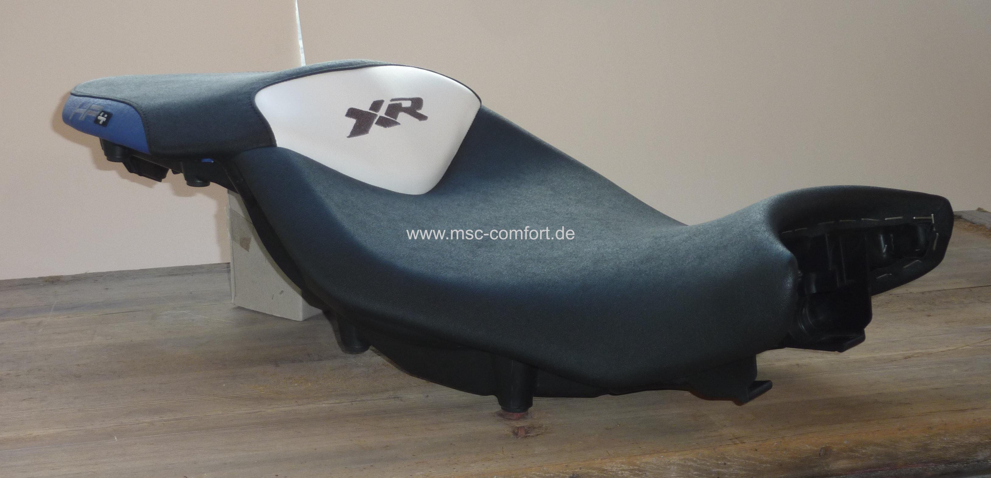 BMW S1000 XR Sitzbank mit Stickerei_2