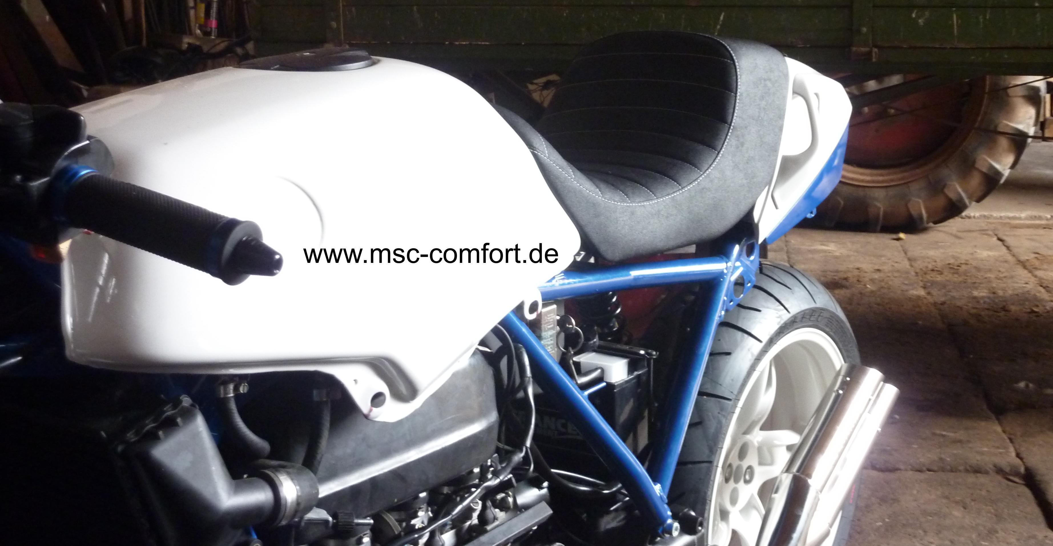 BMW-Scrambler Sitzbank Eigenbau