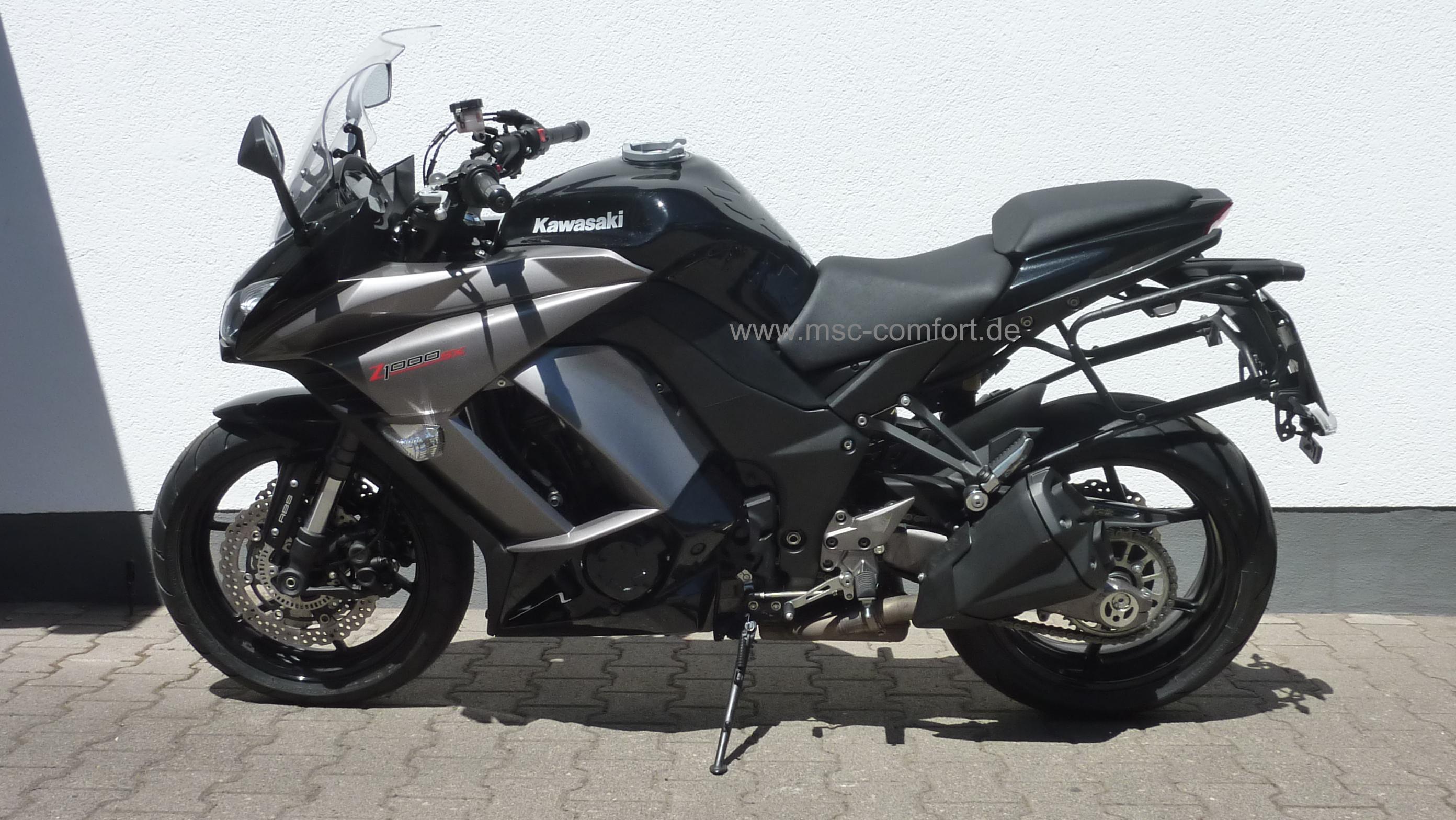 Kawasaki Z1000SX vorne aufgepolstert_1