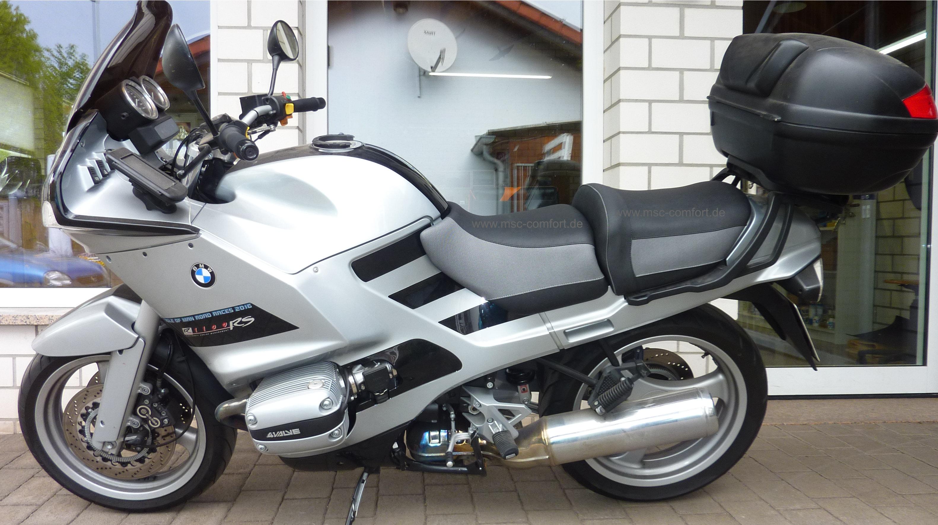 Sitzbank BMW R1100 RS aufgepolstert 2