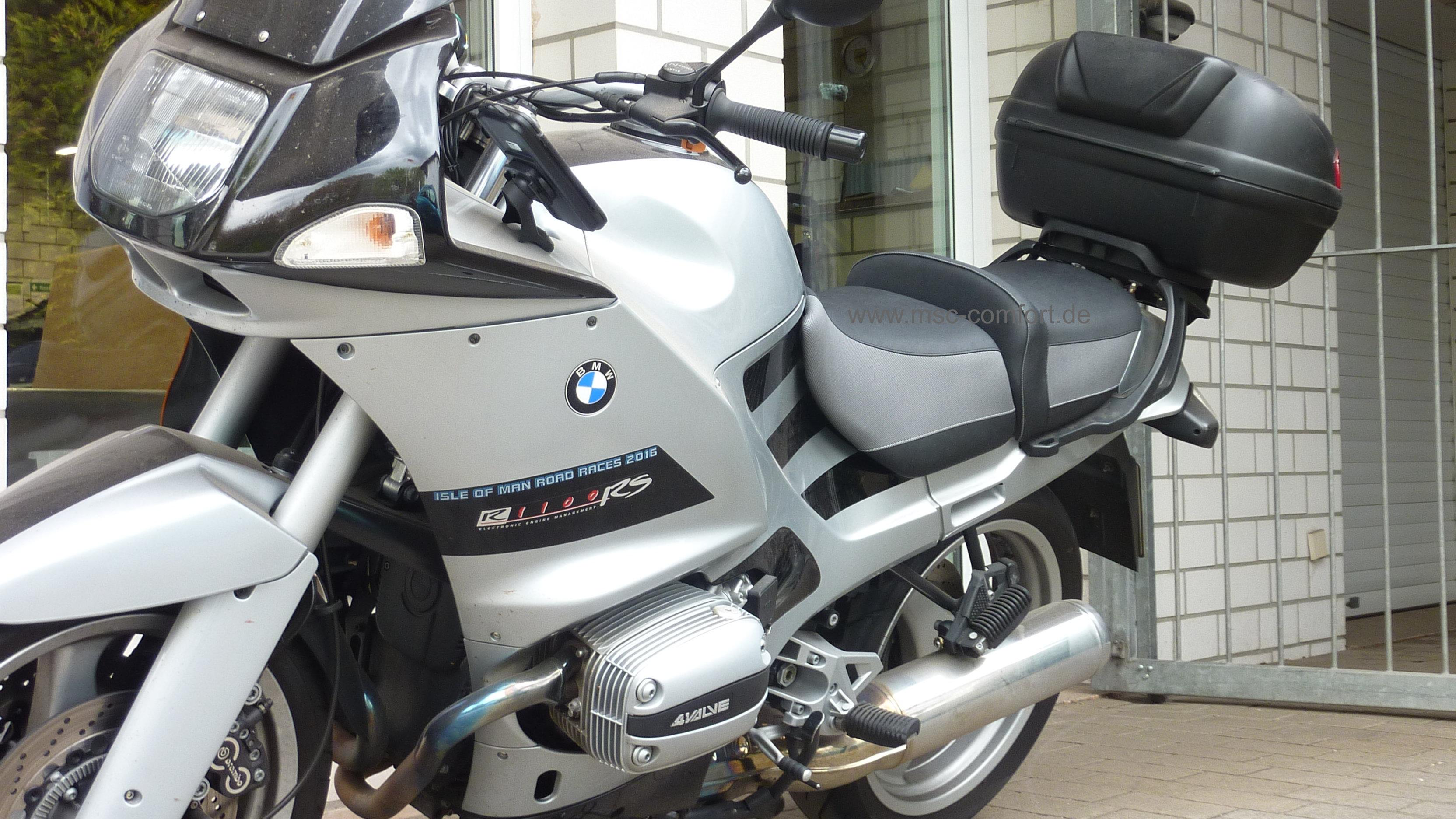 Sitzbank BMW R1100 RS aufgepolstert 1