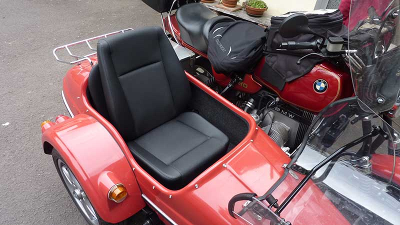 MSCCom4-S-Sitz im Ott-Euro2-Boot